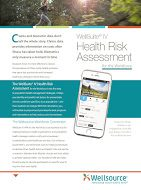 Wellsource Health Risk Assessments