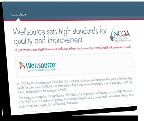 NCQA Case Study